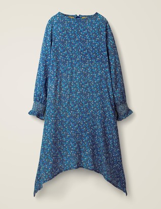 Hanky Hem Midi Dress