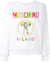 Moschino printed sweatshirt - women - Cotton/other fibers - 40
