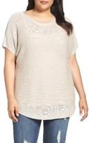Tart Plus Size Women's Padma Linen Blend Sweater
