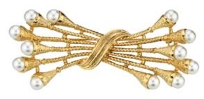 Downton Abbey Simulated Imitation Pearl Pin