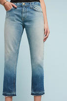 Current/Elliott Mid-Rise Relaxed Straight Cropped Jeans