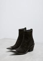 Haider Ackermann Black Classic Ankle Boot