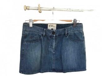 Etoile Isabel Marant Navy Denim - Jeans Skirt for Women