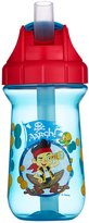 The First Years Disney Junior Jake and The Never Land Pirates Flip Top Straw Cup