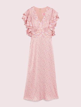 Kate Spade Poppy Field Devore Dress