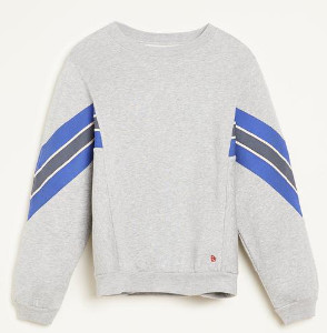 Bellerose Feati Grey Sweatshirt - Size 1 UK8