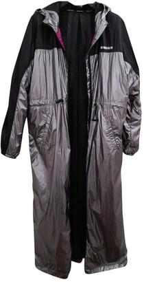 Patrizia Pepe Silver Trench Coat for Women