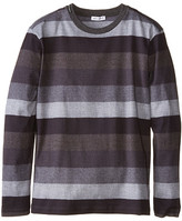 Dolce & Gabbana Printed Stripe Long Sleeve T-Shirt (Big Kids)