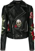 Philipp Plein Carole Guado biker jacket