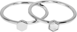 Cluse Women Silver Plated Piercing Ring - CLJ42002-54