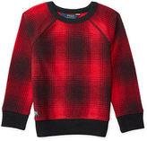Ralph Lauren Plaid Cotton-Blend Pullover