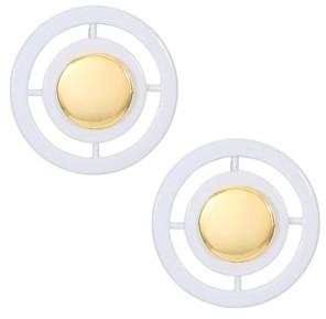 Trifari 14K Gold-Plated Stud Earrings