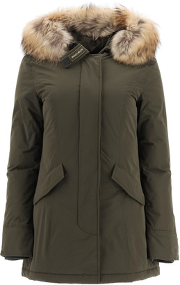 Woolrich Luxury Arctic Parka With Murmasky Fur