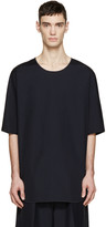 3.1 Phillip Lim Navy Poplin T-Shirt