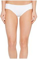 Becca by Rebecca Virtue Prairie Rose American Tab Side Bottoms Women's Swimwear