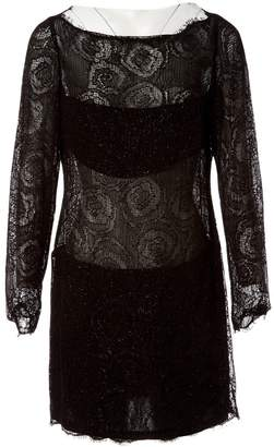 Jay Ahr Black Viscose Dresses