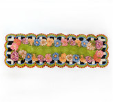 "Mackenzie Childs MacKenzie-Childs Cutting Garden Runner, 2'8"" x 8'"