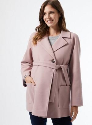 Dorothy Perkins Womens **Dp Maternity Pink Wrap Jacket, Pink