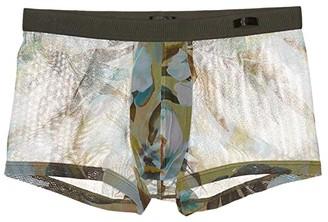 Hom Savane Trunks (Khaki Green) Men's Underwear