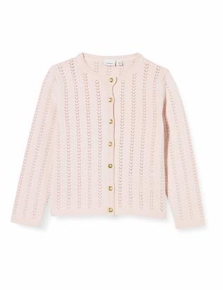 Name It Baby Girls Nbfhesine Ls Short Knit Card Cardigan Sweater