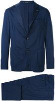 Lardini formal suit - men - Cotton/Spandex/Elastane/Viscose/Wool - 48