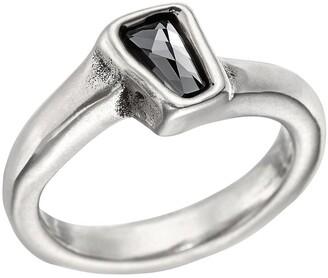 Uno de 50 Glamatic Swarovski Stone Solitaire Ring
