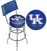 "NCAA 31"" Swivel Bar Stool Trademark Global Team: University of Kentucky"