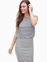 Splendid Venice Stripe Double Layer Dress