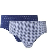 Eminence Pack of 2 Stretchy Cotton Open Briefs