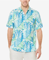 Cubavera Men's Linen Tropical Print Shirt