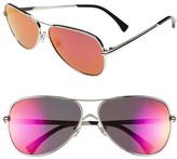 Wildfox Couture Women's Airfox Aviator Metal Frame Sunglasses