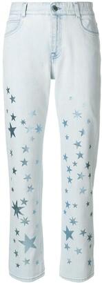 Stella McCartney star printed jeans