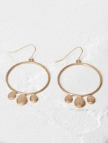 White Stuff Prairie hoop earring