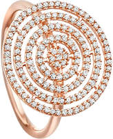 Astley Clarke Icon Aura 14ct rose-gold and diamond ring