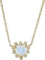 DANA REBECCA DESIGNS Opal Heart Necklace