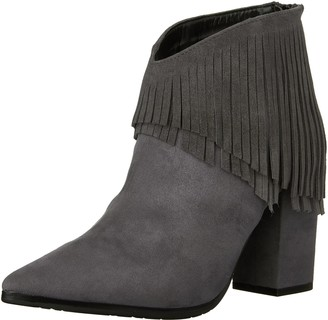 Kenneth Cole Reaction Women's Pull Ashore Fringe Bootie