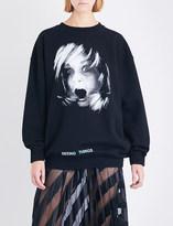 Off-White Screaming Girl cotton-jersey sweatshirt