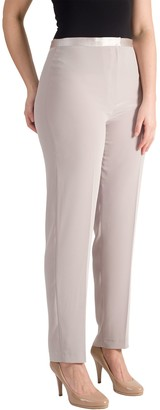 Chesca Pull On Stretch Trousers, Mink