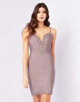 Lipsy Applique Bodycon Dress