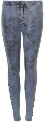 Just Cavalli Slim Lace Up Jeans