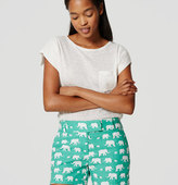 "LOFT Elephant Riviera Shorts with 4"" Inseam"