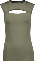 Bailey 44 Cutout stretch-jersey tank