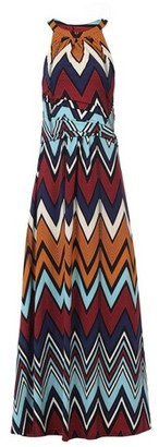 Dorothy Perkins Womens Jolie Moi Multi Colour Wave Printed Dress