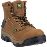 "John Deere Men's Boots 6"" Aluminum Toe EH Lenzt Lace Up 6911"