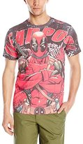 Marvel Men's Deadpool Deadly Skills T-Shirt