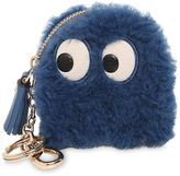 Anya Hindmarch Mini Ghost Shearling Coin Purse
