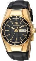Technomarine Women's 'Cruise' Quartz Gold-Tone and Silicone Casual Watch, Color: (Model: TM-115388)