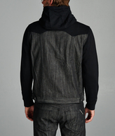 Cult of Individuality Heritage Jacket With Hood In Black