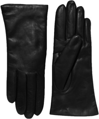 All Gloves Cashmere-Lined Leather Gloves