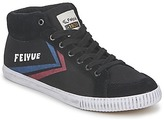 Feiyue DELTA MID ORIGINE 1920 Black / Red / Blue